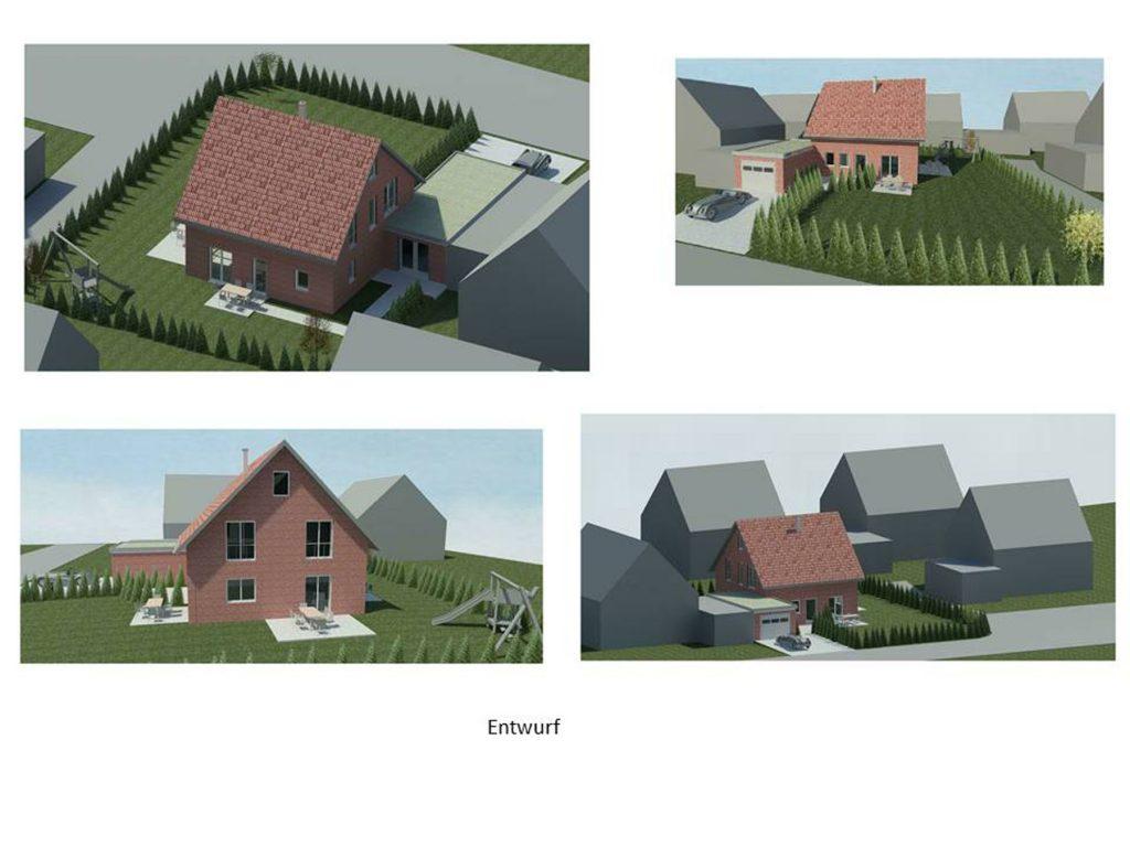 Einfamilienhaus mit Garage KFW 55