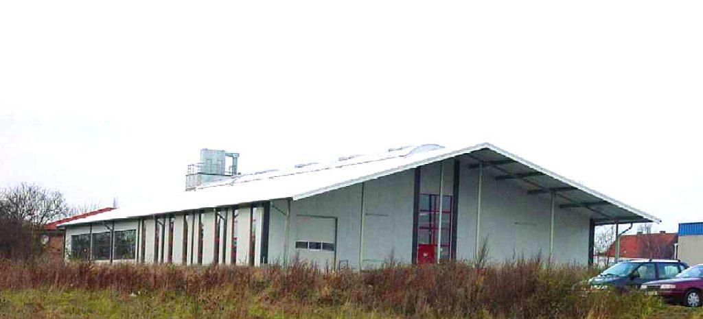 Neubau Lager- und Produktionshalle Möbelbetrieb