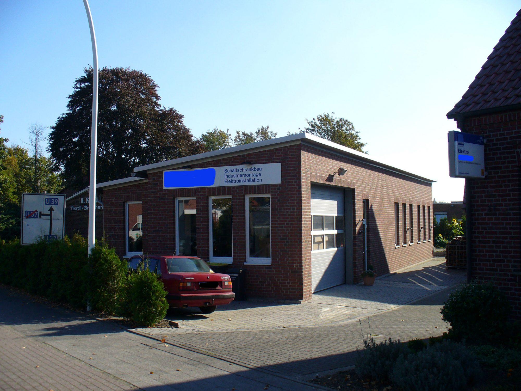 Neubau Produktionshalle für Elektrobetrieb